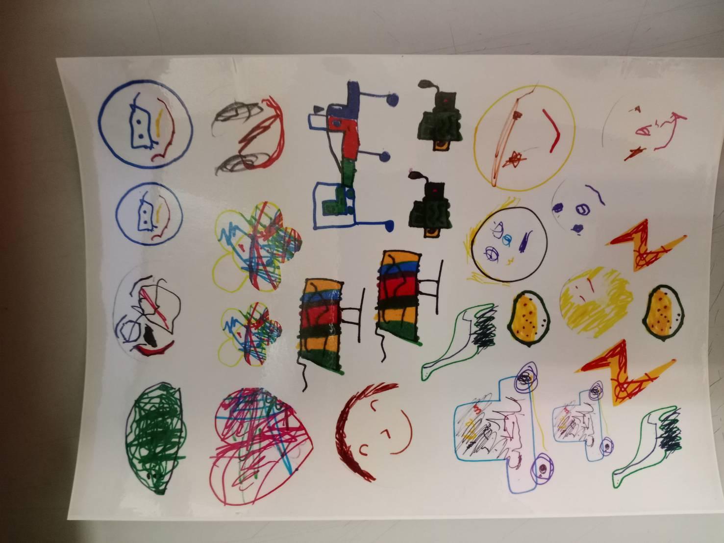 作品也可以是紋身貼紙