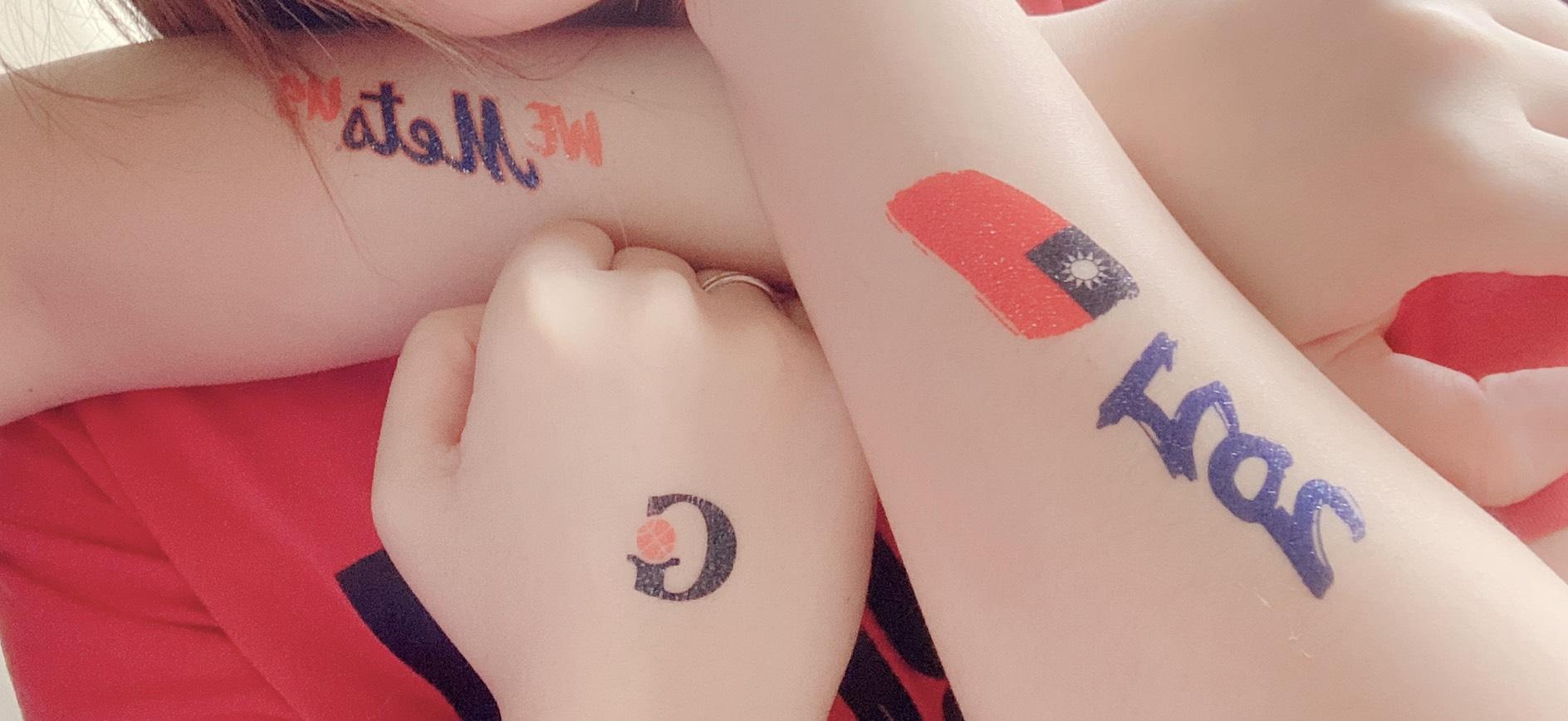 美國大都會台灣日活動紋身貼紙應用